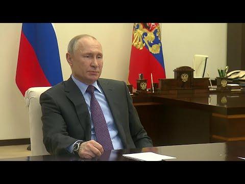 Владимир Путин провел совещание о ситуации на глобальных энергетических рынках.