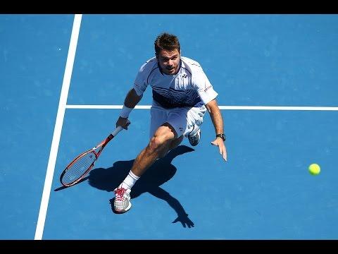 Stan Wawrinka v Guillermo Garcia-Lopez highlights (4R) - Australian Open 2015