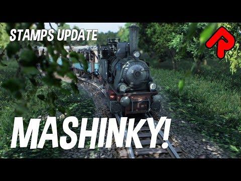 Best Railroad Tycoon Game Yet!   MASHINKY 5th Era Stamps