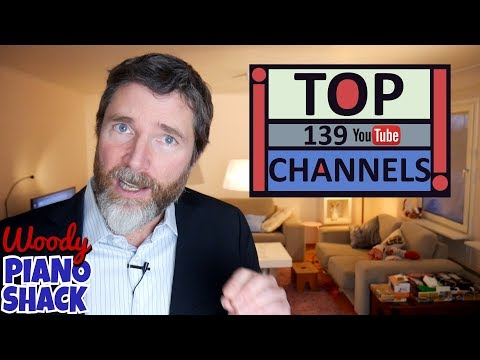 Woody's Top 139 YouTube channels