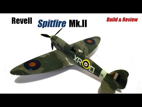 Revell Supermarine Spitfire MkII - 1/48 Scale Plastic Model Kit - Build & Review