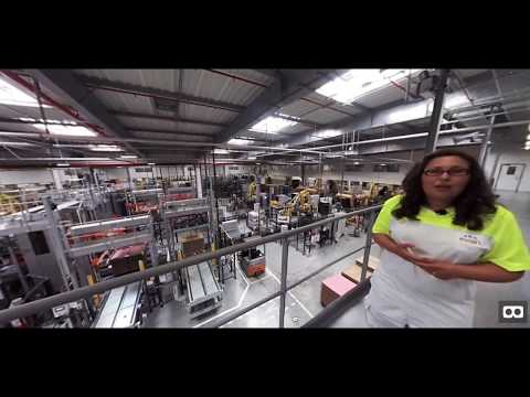 evian factory in interactive 360VR teaser (french) - Immersive Employer Branding