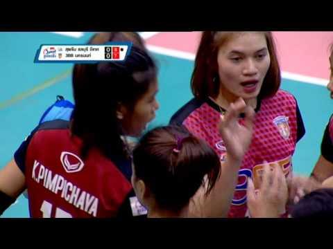 25-03-2560 วอลเลย์บอลไทยเดนมาร์ค (หญิง) สุพรีมชลบุรี - 3BB นครนนท์