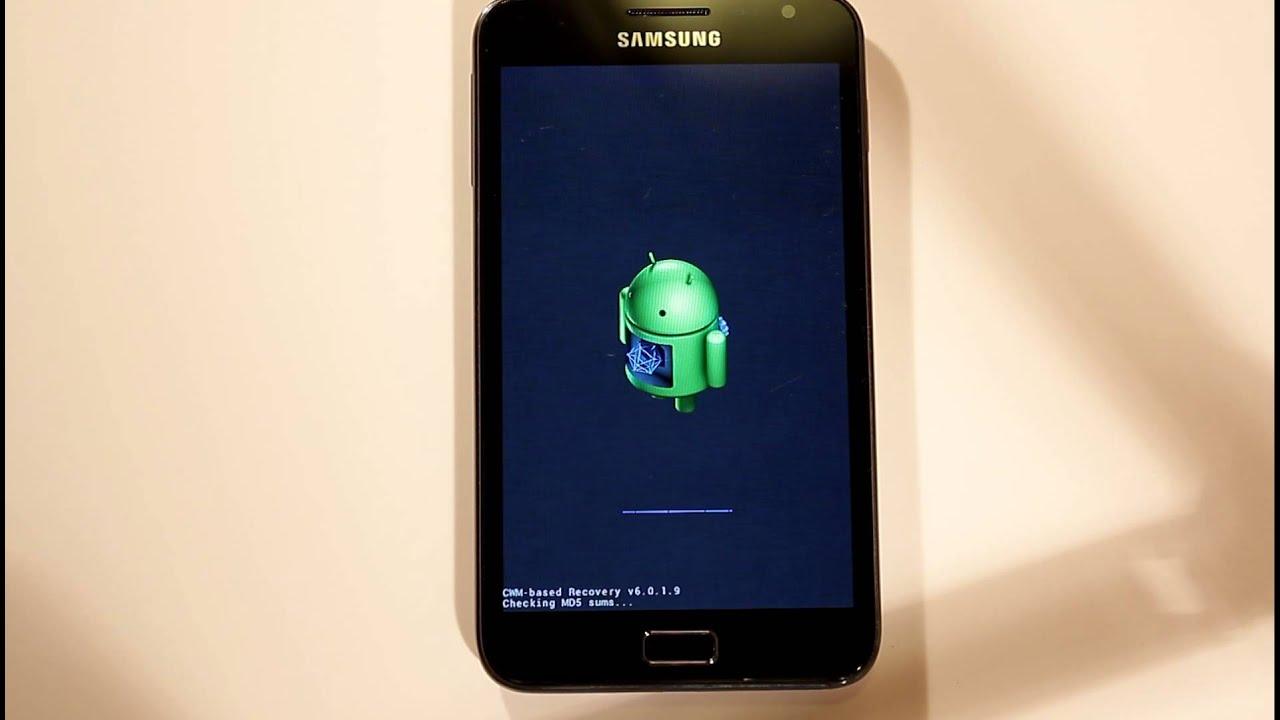 Como reinstalar o rom do telefonele Android oficial