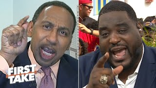 Stephen A. blasts Damien Woody for saying the Cowboys will win a Super Bowl | First Take