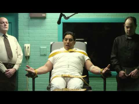 Scene from A SHORT FILM ABOUT EXECUTION with Richard Esteras