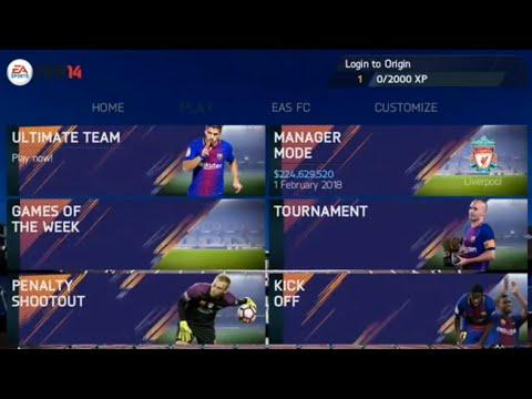 FIFA 14 New Mod 2018 Android Offline 850MB HD Garphics English Commentary NewMenuNewSquad|#Fifa14Mod
