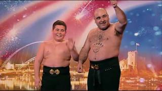 Stavros Flatly - BGT 2009 - AUDITION - HD - EryGarza (1 of My Top 5's)