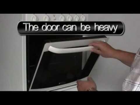 How To Remove Oven Door Ovendoorglue Youtube