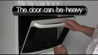 How to Remove Oven Door - ovendoorglue
