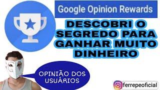 DESCOBRI O SEGREDO DO GOOGLE OPINIONS REWARDS. DIAMANTES GRÁTIS PELO GOOGLE OPINIONS REWARDS