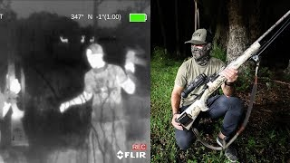 Exploring Forrest at MIDNIGHT with THERMAL Vision!!! (Panther)
