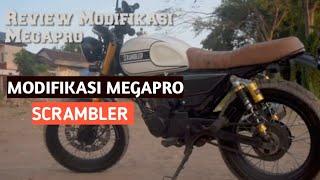 MEGAPRO MODIF SCRAMBLER