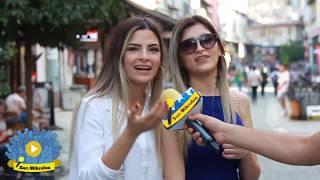 Kadınlara sorduk  Bir Erkek Nasıl Giyinmeli ? Sarı Mikrofon