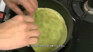 Lady M Cake Recipe - Lady  M抹茶可丽饼蛋糕做法