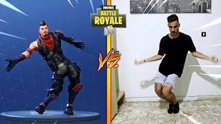TOUS LES FORTNITE DANCES IN REAL LIFE! «Fortnite Challenge»
