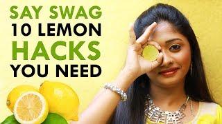 10 Amazing Beauty Hacks Using Lemon!   Nature Nurture