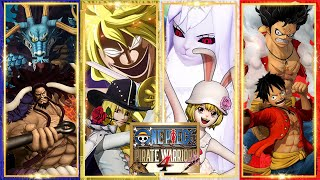 One Piece Pirate Warriors 4 All Transformations, All True Awakenings, All Forms/Evolutions [HD]
