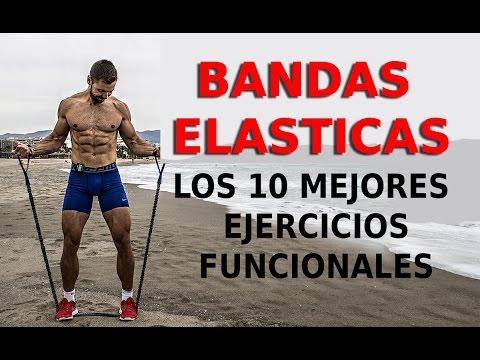 🔴 Los 10 mejores EJERCICIOS FUNCIONALES - BANDAS ELÁSTICAS