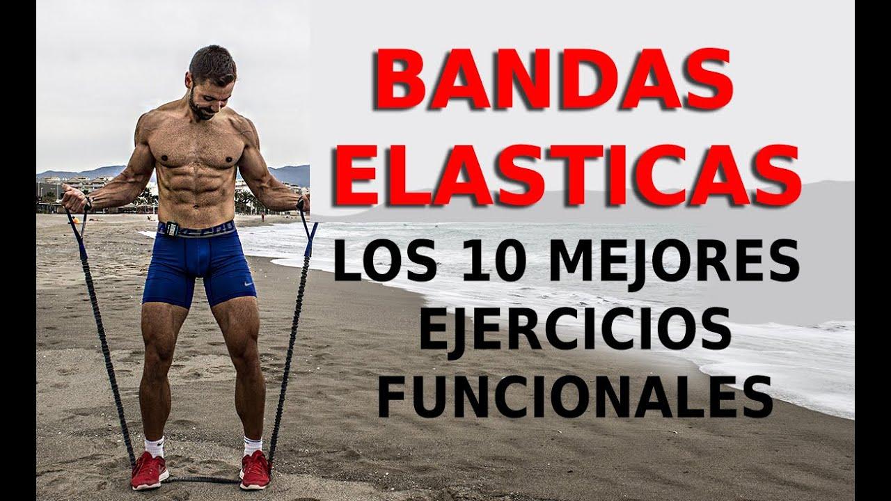 ejercicios con goma elastica decathlon