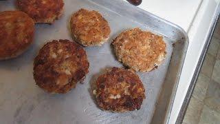 Poor Man's Crab Cakes- Salmon Patties