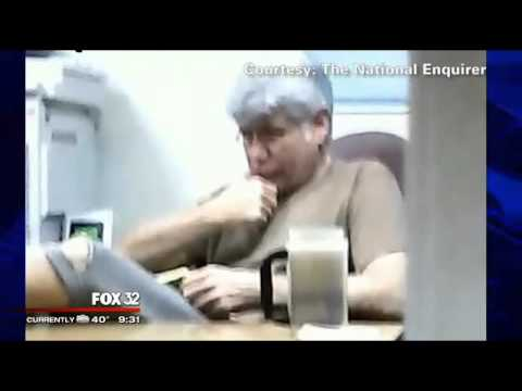 Photos reveal Rod Blagojevich in prison with white hair