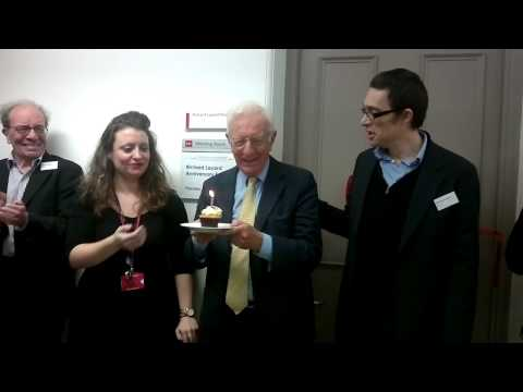 The unveiling of Richard Layard room at LSE