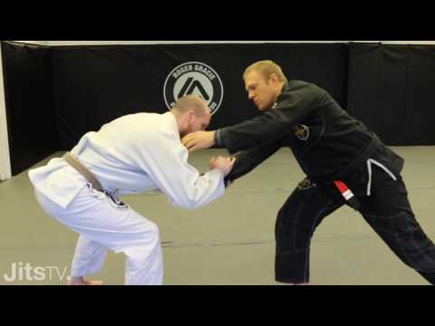 How To Pull De La Riva X-Guard - Nic Gregoriades - BJJ Instructional