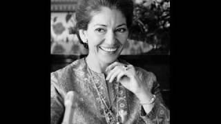 Callas teaches bass-baritone Willard White on Fiesco's aria
