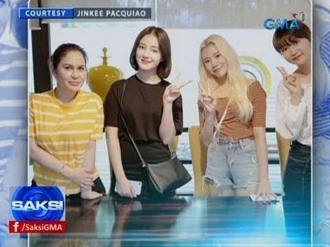 Saksi: 'Momoland', naka-bonding ang Pacquiao family