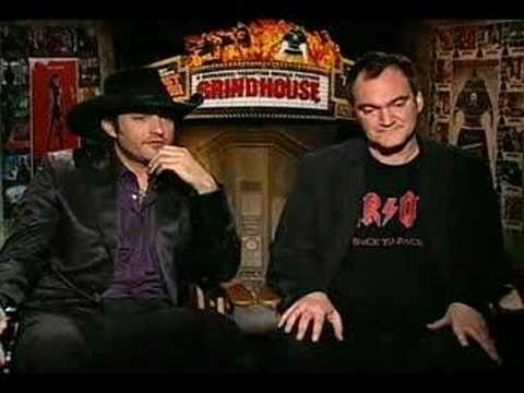 Quentin Tarantino Robert Rodriguez interview for Grindhouse