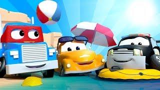 Kota Mobil di Hari Libur KOMPILASI MUSIM PANAS Kartun Musim Panas untuk Anak anak