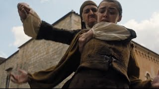 Game of Thrones S06E07 - Arya Stark Shanked
