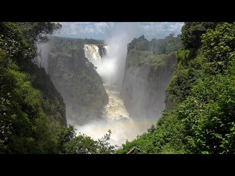 Victoria Falls - Mosi-oa-Tunya, Zambia & Zimbabwe In 4K Ultra HD