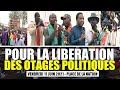 Résumé Manifestation M2D Ngir Libération Wu Otages Politiques Yii