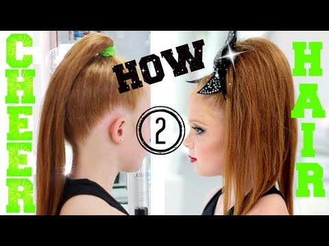 HOW TO CHEER HAIR | ALL STAR CHEERLEADING TUTORIAL