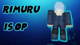 RIMURU IS OP| ROBLOX ANIME CROSS EP 4?!??!