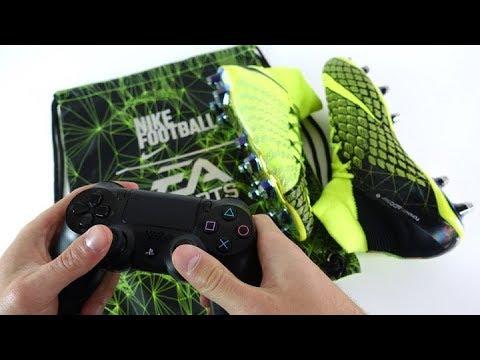 the latest 5a56e 37f26 REAL LIFE FIFA 18 BOOTS! - EA Sports X Nike Hypervenom Phantom 3 DF -  Review + On Feet
