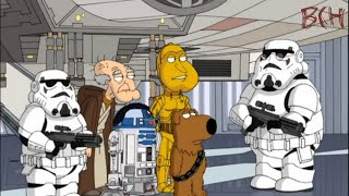 Лучшее в мультиках. Гриффины (Family Guy) #11. Звёздные войны. Часть 2