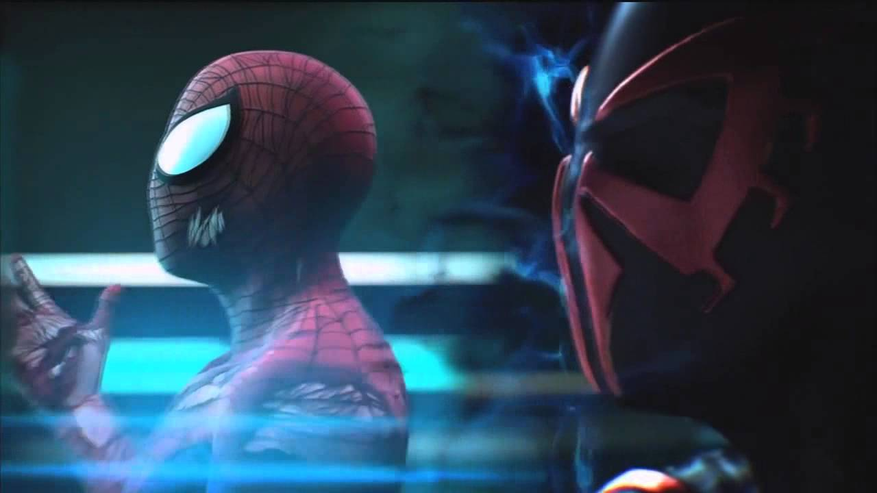 spiderman edge of time clip fandub latino youtube