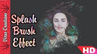 Splash Editing in Picsart   Picsart Tutorial in Hindi   Splash Edits   Latest HD