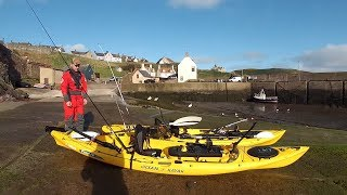 Kayak Sea Fishing at St Abbs UK -  2015(This was my first kayak sea fishing session at St Abbs UK, on the Scottish borders in April 2015. There were plenty of Coalfish and Pollack around, although ..., 2015-05-18T06:56:07.000Z)
