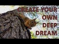 How to create deep dream videos using your own images =)