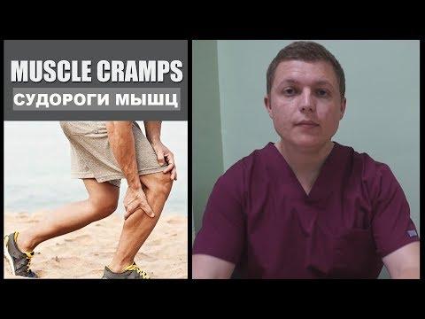МЫШЕЧНЫЕ СУДОРОГИ | ТИПЫ И ПРИЧИНЫ | Muscle Cramps Causes