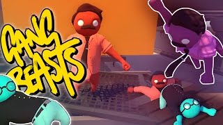 DILBERT THE MODEL! | Gang Beasts (Funny Moments)
