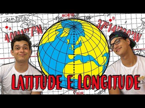 LATITUDE E LONGITUDE - RESUMO GEOGRAFIA