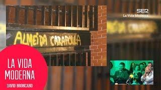 La respuesta a la pintada que intentó borrar Almeida  #LaVidaModerna