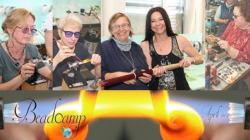 Glas Perlen Fisch Frosch Linse Rad Implosion Bead Camp Schweiz 2018 Bethlehemburners