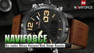NAVIFORCE Men's Fashion Sport Watches
