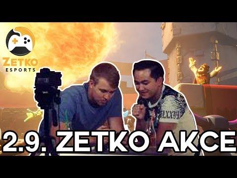 Pozvánka na 02.09.2017 do Zetka - OD Kotva, Praha - Clash Royale Akce hosted by Jirka Král a Pepis